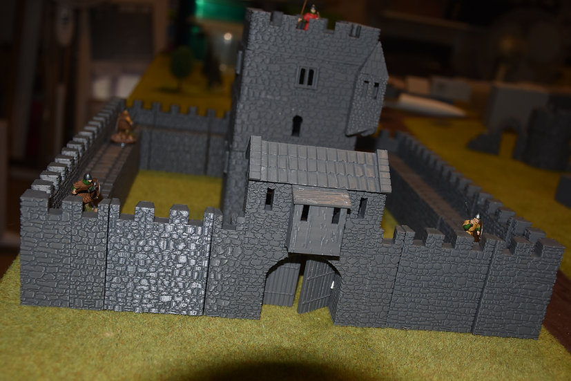 Entrée de la towerhouse médiévale seule