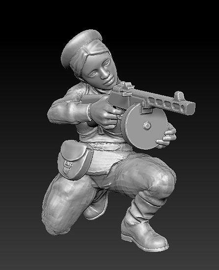 Femme Soldat russe no 08 ww2