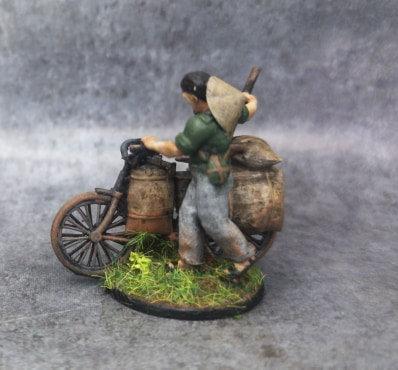 Indochine soldat viet vélo 2