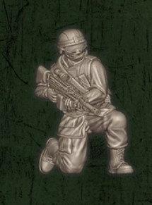 US soldat équipe Foxtrot 1