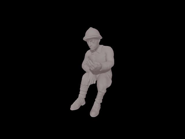 Soldat français seul 3 (équipage)