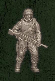 US soldat équipe Echo 1