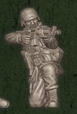 US soldat équipe Delta 2