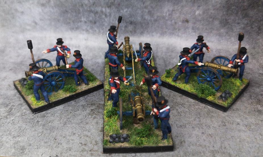 1808-1809 Canon espagnol 18mm seul