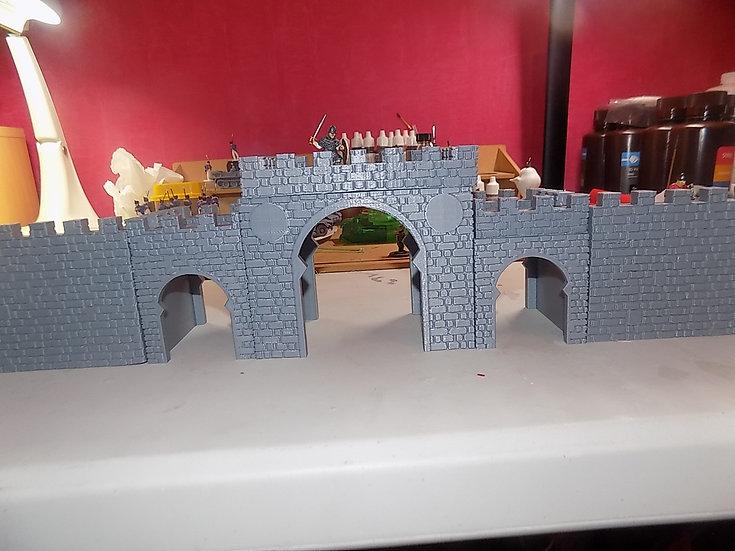 Porte médiévale arabe
