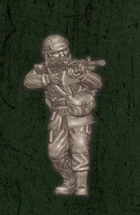 US soldat équipe Alpha 1