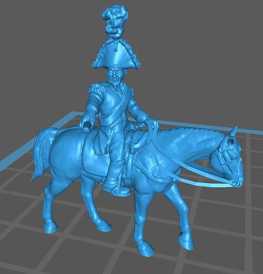 1812-1814 Général à cheval 10mm