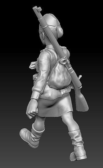 Femme Soldat russe no 11 ww2