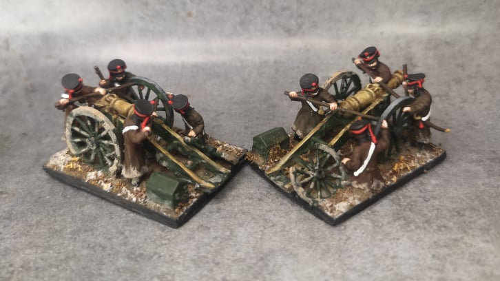 1812-1814 Canon russe 12 livres 18mm seul