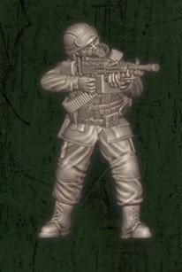 US soldat équipe Charlie 1