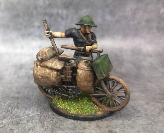 Indochine soldat viet vélo 1