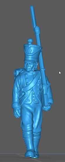 1808-1810 Infanterie de ligne française 2 28mm