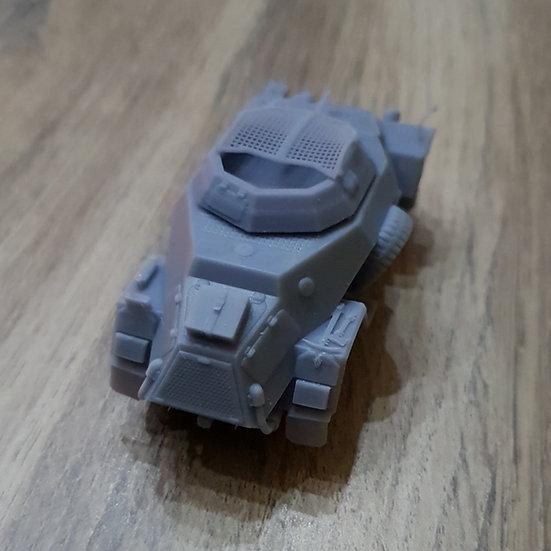 German Sdkfz 221 tourelle fermée