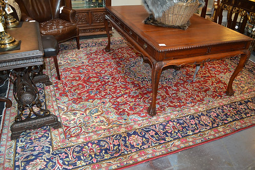 "Wool area carpet from Iran 9' 7"" x 12' 7"""