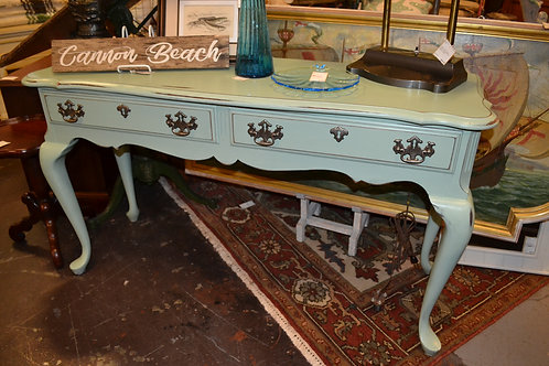 Penn house teal painted sofa table