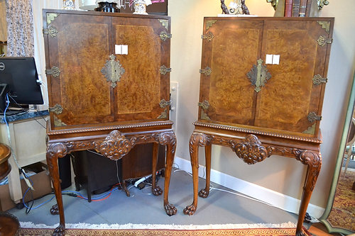 - Berkey & Gay Antique Asian Cabinet