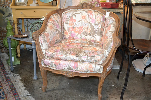 Antique bedroom chair from France