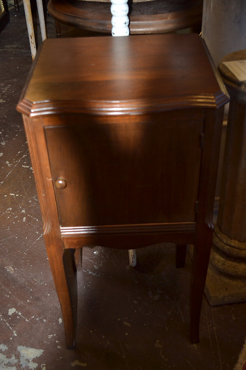 Wood petite copper lined cabinet