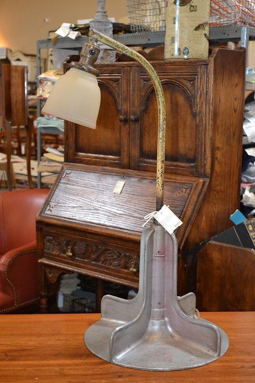 Lamp- Antique custom industrial goose-neck lam