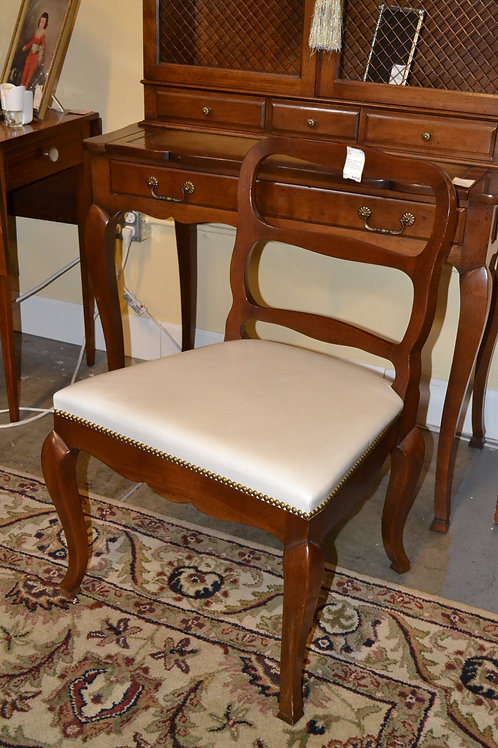 Drexel Heritage open back vanity chair