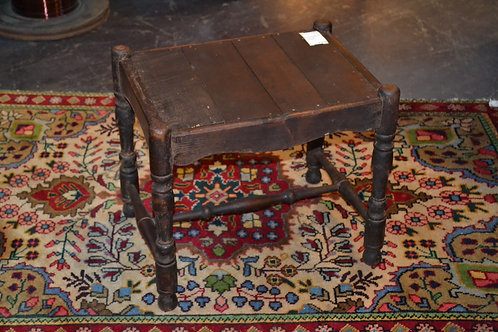 Antique primitive sweet wooden foot stool