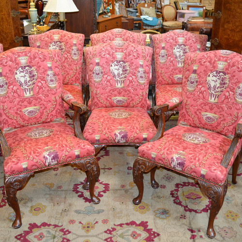 Attractive Antique Style Living Room Furniture Motif - Living Room ...