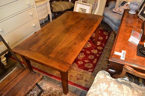 FRENCH 1840 DOUGH RISING BIN COFFEE TABLE