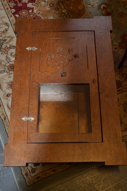 Custom craftsman mission style medicine cabinet
