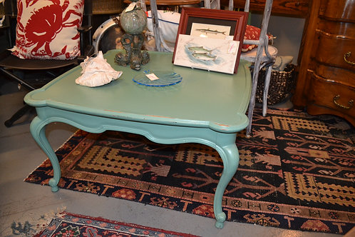 PAINTED FRENCH STYLE COFFEE TABLE- 32x32x18