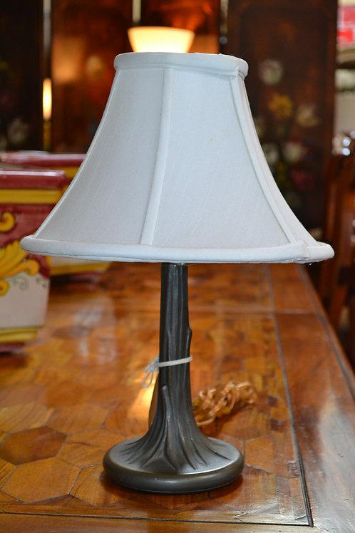 Lamp- Cast 'tree' bronzed base