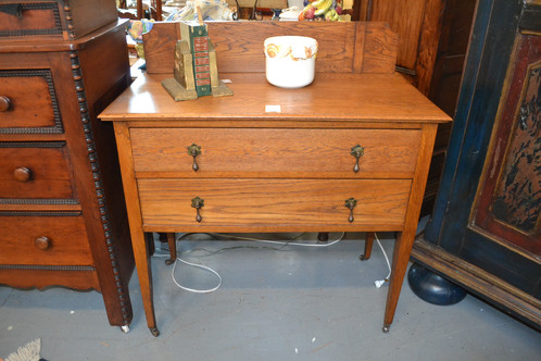 Vintage Shaker Console Table