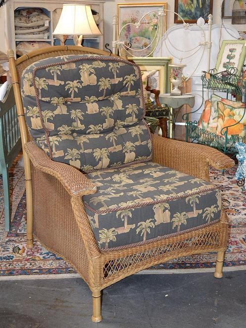 Lloyd Flanders indoor/outdoor rattan chair