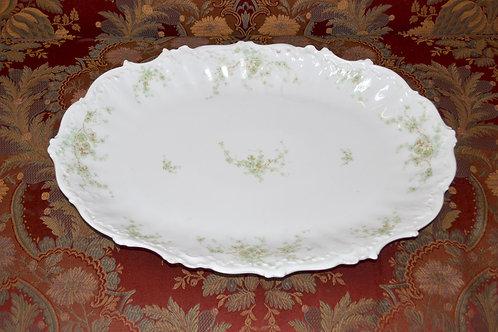 1800s delicate painted porcelain Limoges