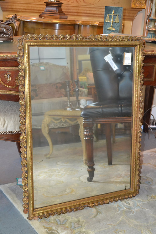 Vintage dark gold mirror
