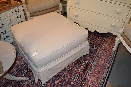 Knightsbridge Upholstered Ottoman- 32x32x19