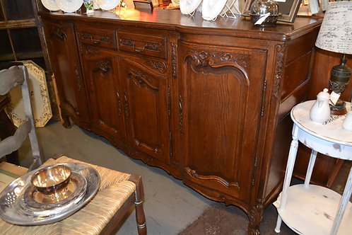 LARGE CARVED FRENCH CREDENZA / BUFFET