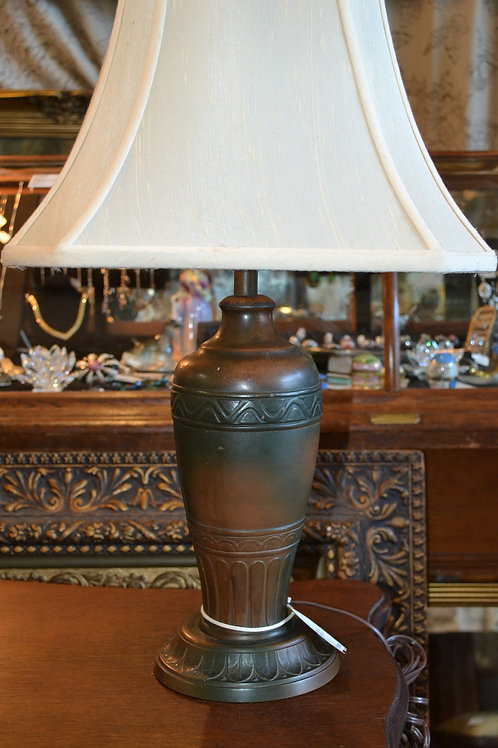 Lamp- Fantastic antique metal craftsman era lamp