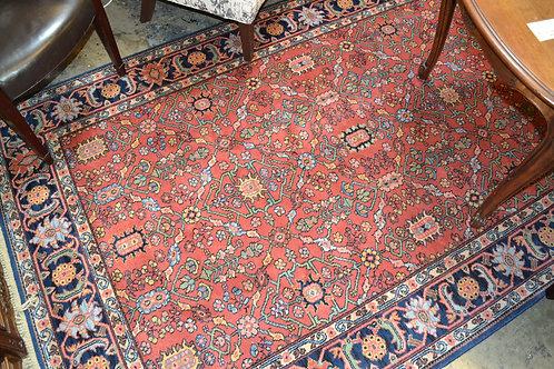 "Karastan #729 Serapi wool rug 5' 9"" x 9'"