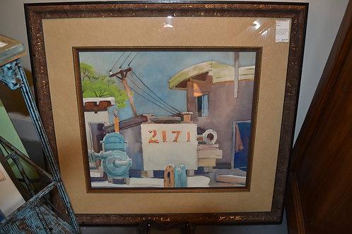 ART- ORIG WTRCLR, 2171 BEACH HOUSE