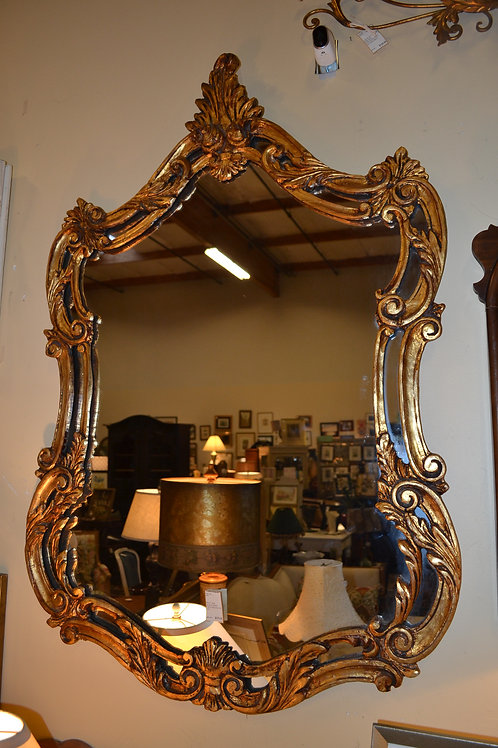 Mirror- Large gorgeous gilded French decorative