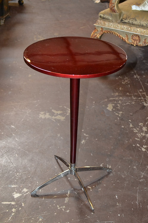 Keno Brothers red lacquer side table