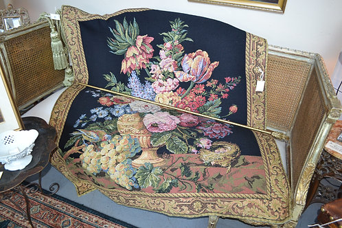 MADE IN FRANCE TAPESTRY, FLOWER BOUQUET- 51x60
