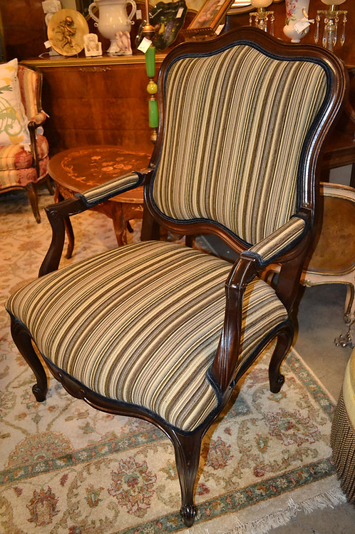Drexel brushed occasional chair