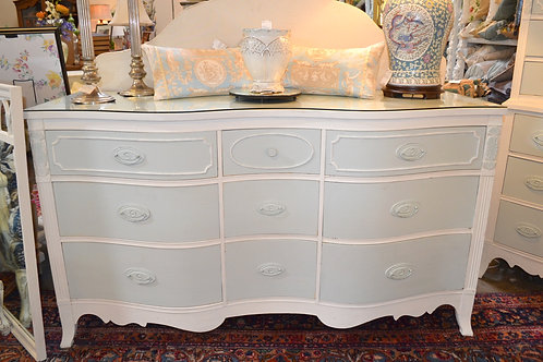 French style hand painted dresser