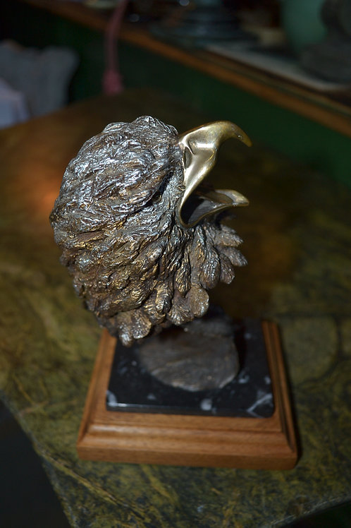 John livingston eagle sculpture- 'freedom forever'