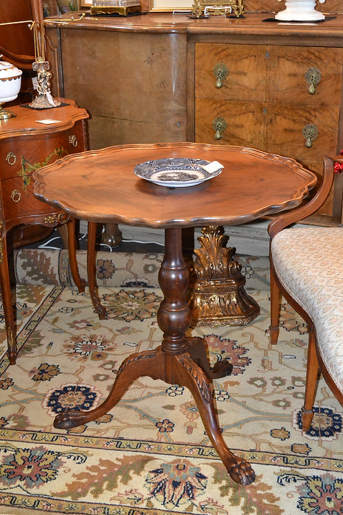 Gorgeous antique Chippendale carved table