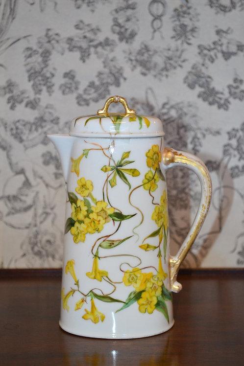 Antique 1890s CFH/GDM Limoges teapot