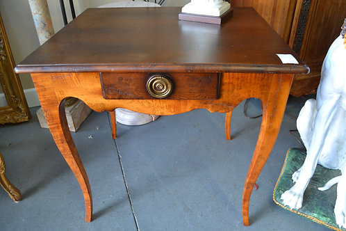 Baker Milling road end table w drawer