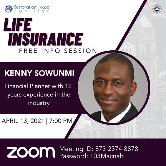 Life Insurance Info Session on Zoom