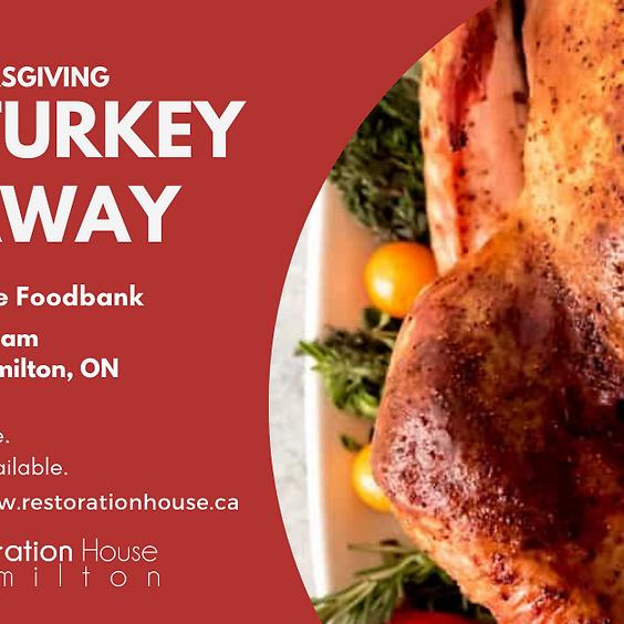 Turkey at Thanksgiving  FREE Turkey Giveaway in Hamilton